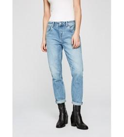 "Pepe Jeans ""Violet"" BLUE DUA LIPA"