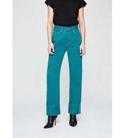 """Pepe Jeans """"Dua Coloured"""" Green DUA LIPA"""