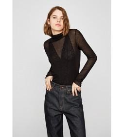 """Pepe Jeans """"Aida"""" Black DUA LIPA"""