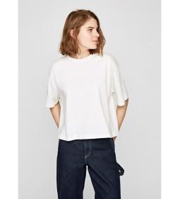 """Pepe Jeans """"Mimi"""" White DUA LIPA"""