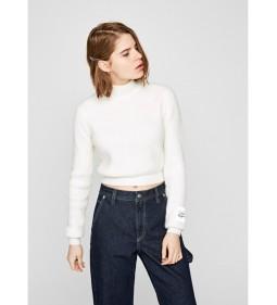 """Pepe Jeans """"Silvi"""" White DUA LIPA"""