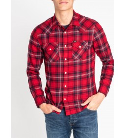 "Lee ""Western Shirt"" Warp Red"