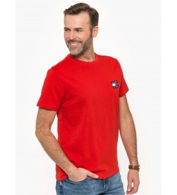 """Tommy Jeans """"Badge Tee"""" Red"""
