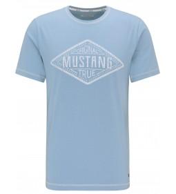 "Mustang ""Alex C Print"" Blue"