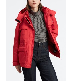 "Levi's ""Felice Down Jacket"" Brilliant Red"