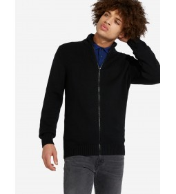 "Wrangler ""Full Zip Knit"" Black"
