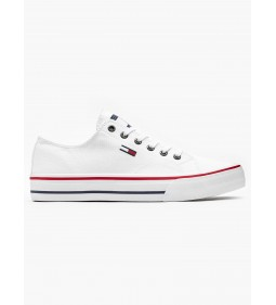"""Tommy Jeans """"Classic Long Lace Sneaker"""" White"""