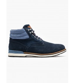"Tommy Hilfiger ""Outdoor Suede Boot"" Blue"
