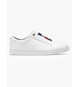 "Tommy Hilfiger ""Crystal Leather On Sneaker"" White"