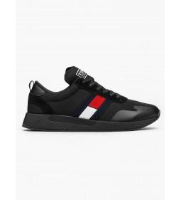 "Tommy Jeans ""Flag Flexi Sneaker"" Black"