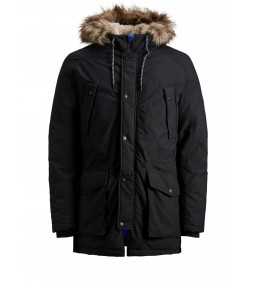 "Jack & Jones ""Jorexplore Parka Jacket"" Black"